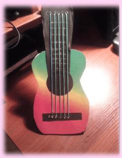 гитара поделка