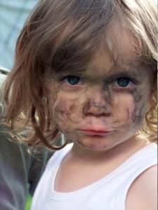 ребенок-с-грязным-лицом