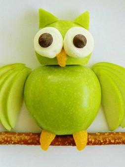 веселая еда-сова