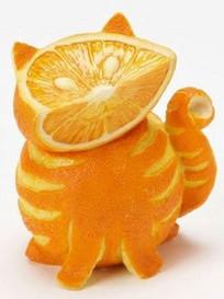 веселая еда-кот