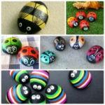 Раскрашенные камни — новый вид занятий с детьми!