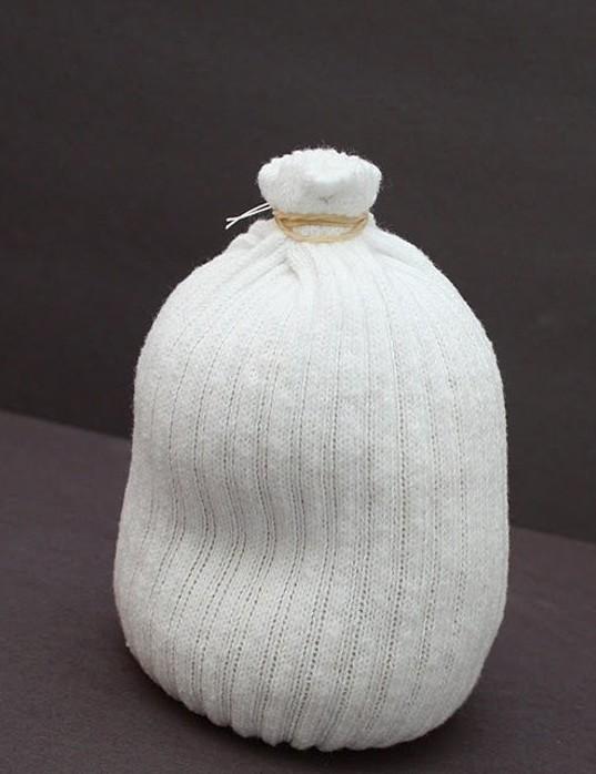 снеговик из носка3