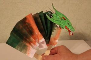 дракон поделка