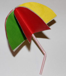 зонтик поделка