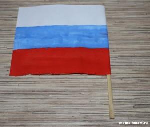 флаг россии поделка