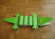 Крокодил поделка