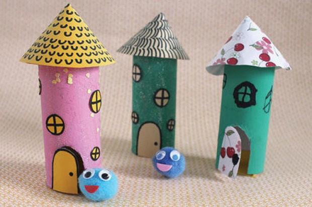 Круглые домики