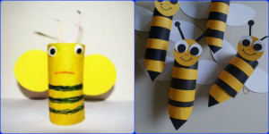 пчела поделка
