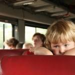 ребенок в дороге