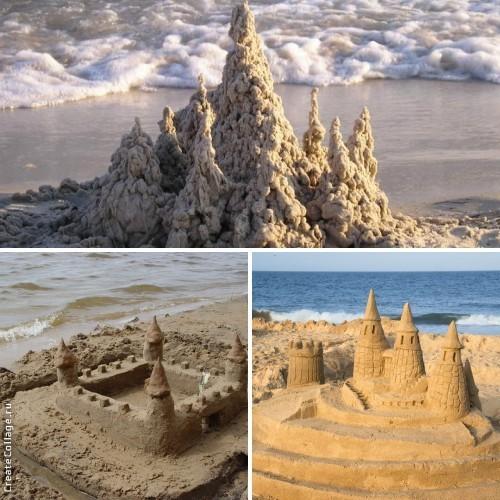 zamok iz peska