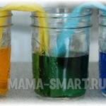 Эксперимент «вода-художник»